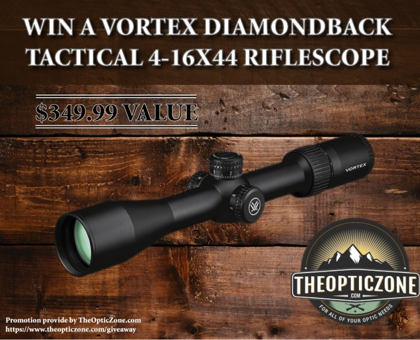 Riflescope Giveway - The Optic Zone